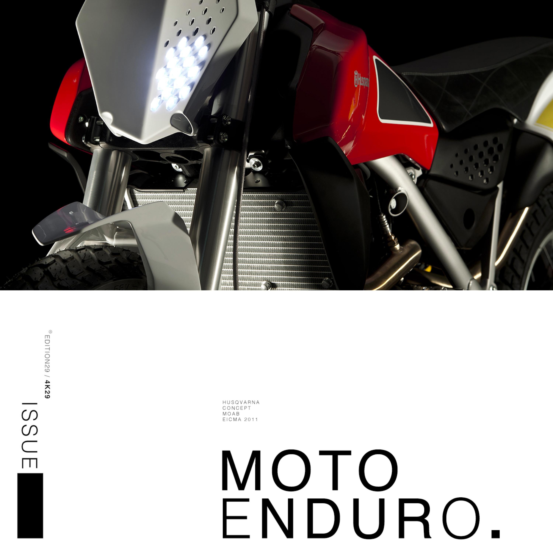 MOTO ENDURO 4K29
